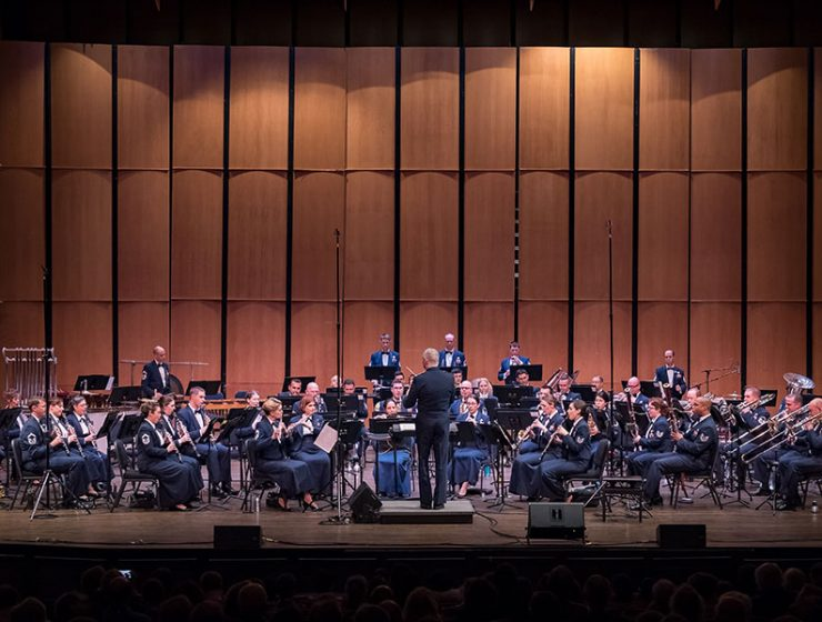 US Air Force Concert Band and Singing Sergeants