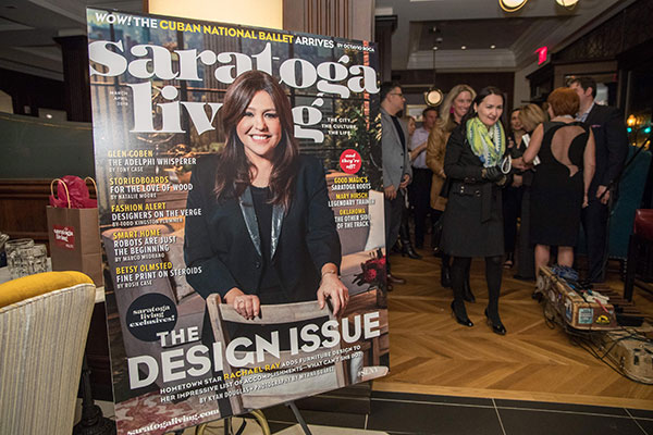 saratoga living Design Issue Party