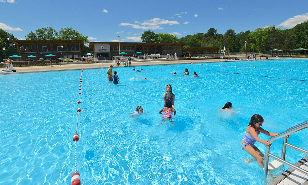 Saratoga spa state park 39 s peerless pool reopens in time - Victoria park swimming pool price ...