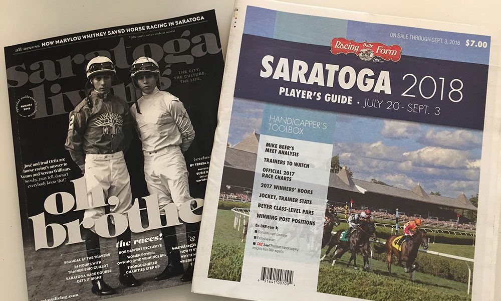 And Were Off Saratoga Living Daily Racing Form Strike Content