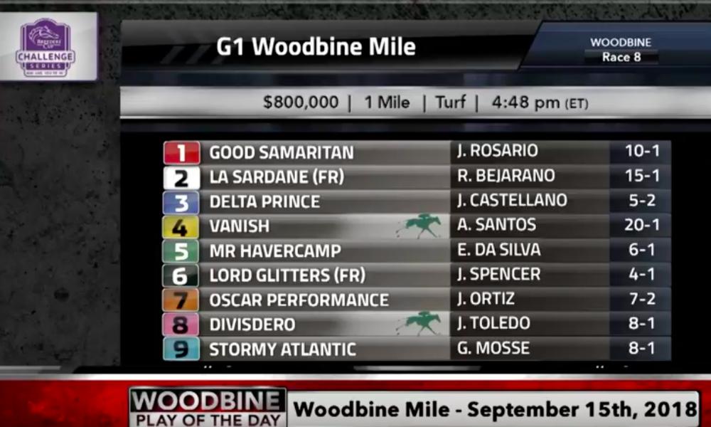 woodbine mile