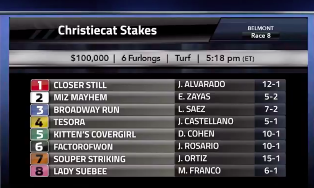 Christiecat Stakes