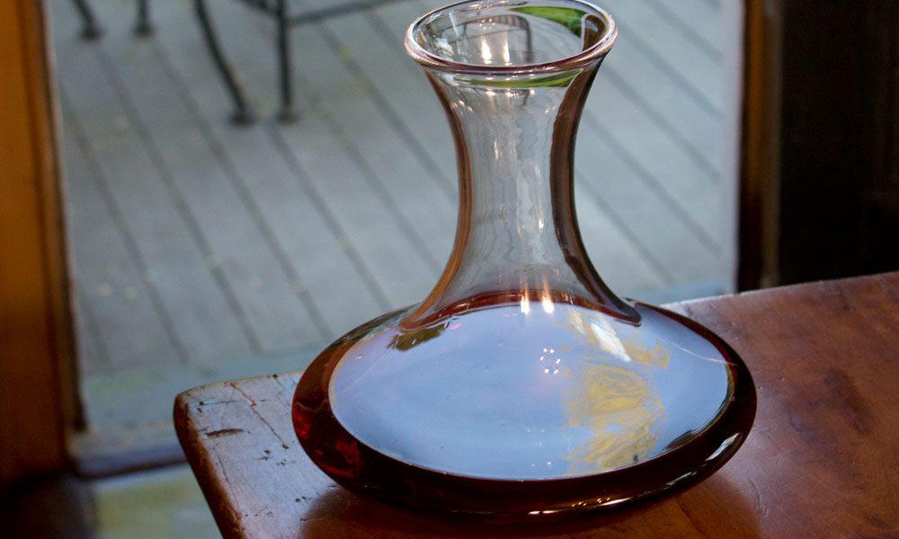 Decantering Wine