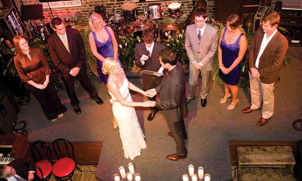 Officiating Saratoga Weddings