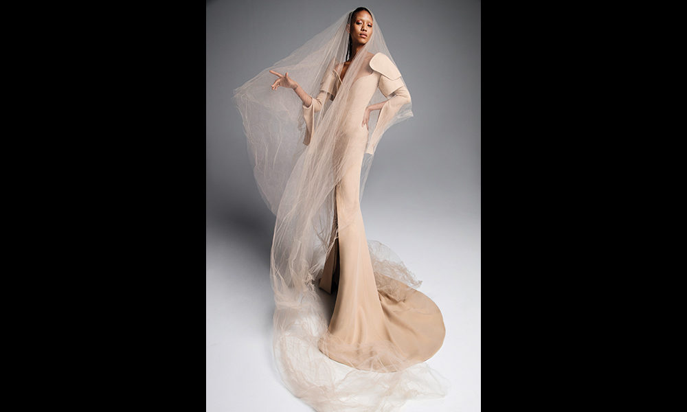 453deac201 Vera Wang s stunning Tatiana gown is the indisputable standout of the  season. (Inez   Vinoodh Vera Wang Group)