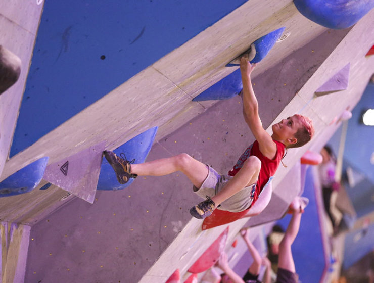 USA Climbing's Bouldering Youth National Championship