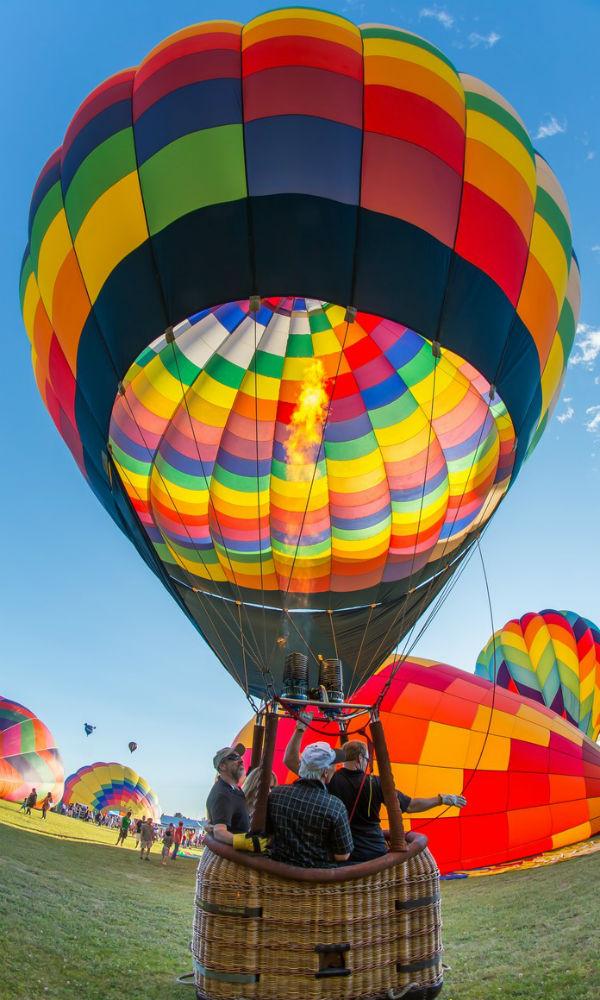 Saratoga County Balloon & BBQ Festival