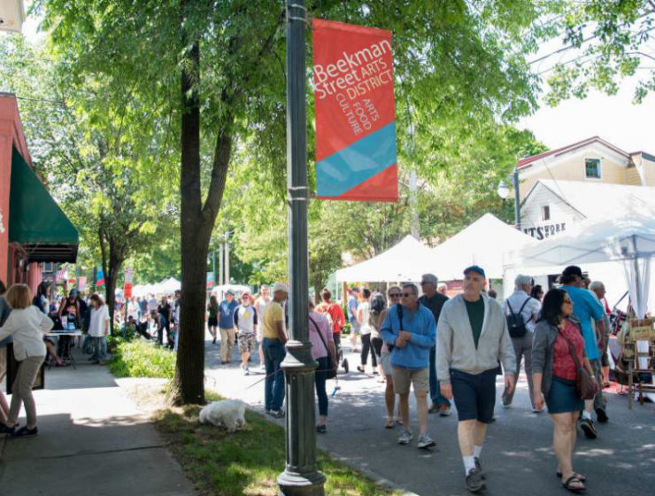 Beekman Street Arts Fair