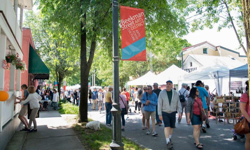 Beekman Street Arts Fair
